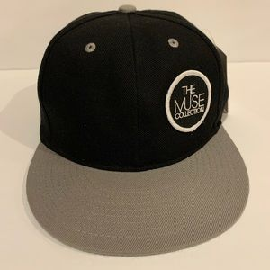 The  Muse  Collections  Unbranded cap  Black Gray